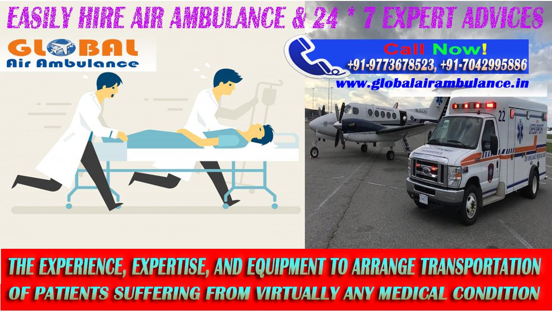 Modern Tech Icu Setup With Global Air Ambulance In Delhi Medical Tourism Medical Services Ambulance
