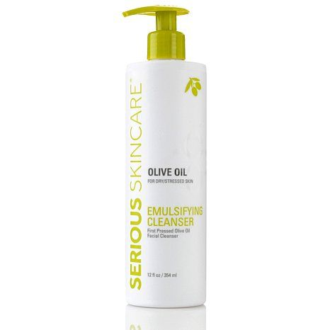 Serious Skincare Olive Oil Emulsifying Facial Cleanser Olive Oil Face Wash Olive Oil Skin Care Skin Care