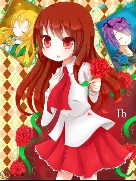 IB is a RPG maker game  It has anime like structure  IB is a