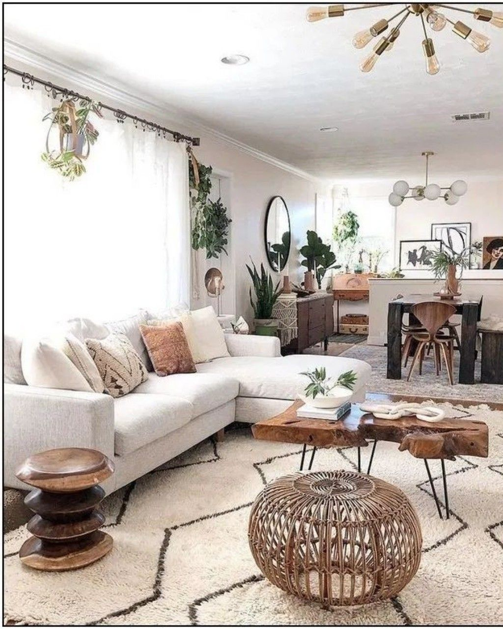 How To Choose A Large Coffee Table In 2020 Living Room