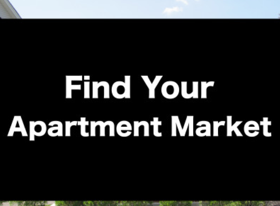 What is the best market for investing in apartments?