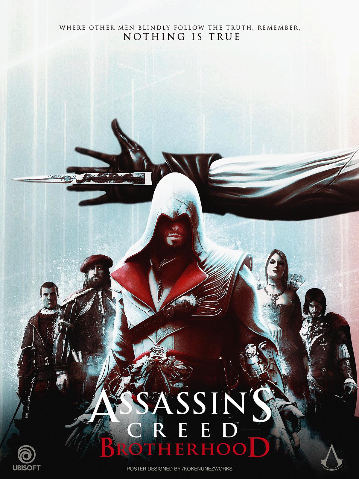 Assassin's Creed 2 Ezio's Trilogy Alternative Poster