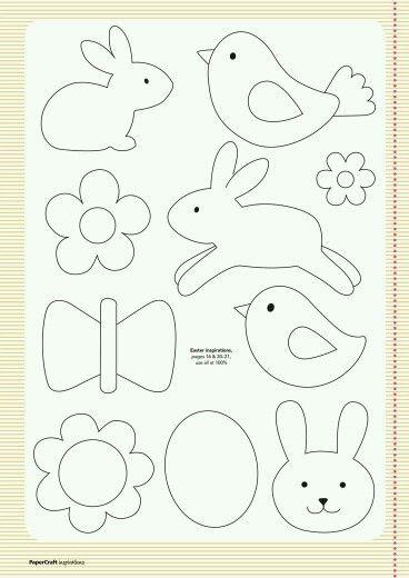 Cutout pattern | Hračky-Quiet book-tichá kniha | Pinterest ...