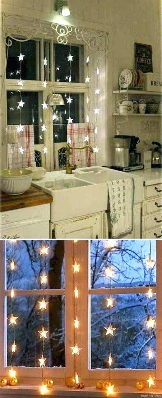 35 Bastelideen Weihnachtsdeko Fur Fenster Basteln Mit