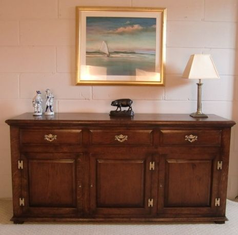 By Hall Farm Reproductions. Antique reproduction oak furniture, Bespoke  furniture. - Handmade Oak Dresser Base. By Hall Farm Reproductions. Antique