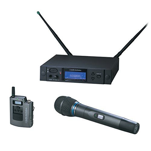 Audio Technica Aew 4315ad 4000 Series Wireless Handheld Microphone And Body Pack Combo System You Can Find Out More Details At The Link Of The Image