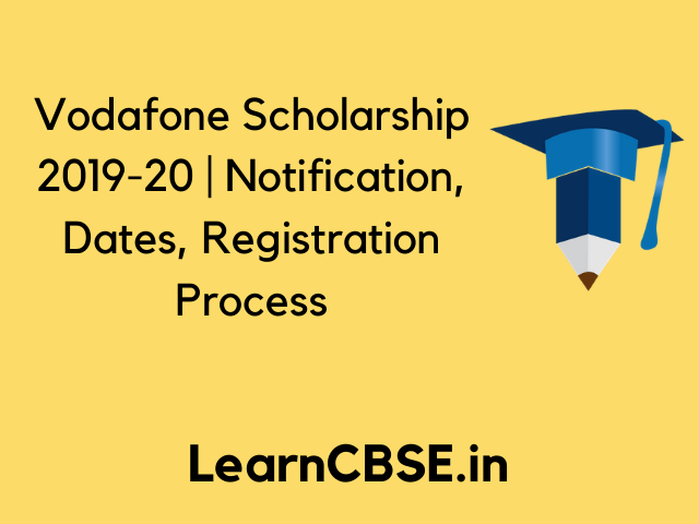 Vodafone Scholarship 2020 With Images Scholarships