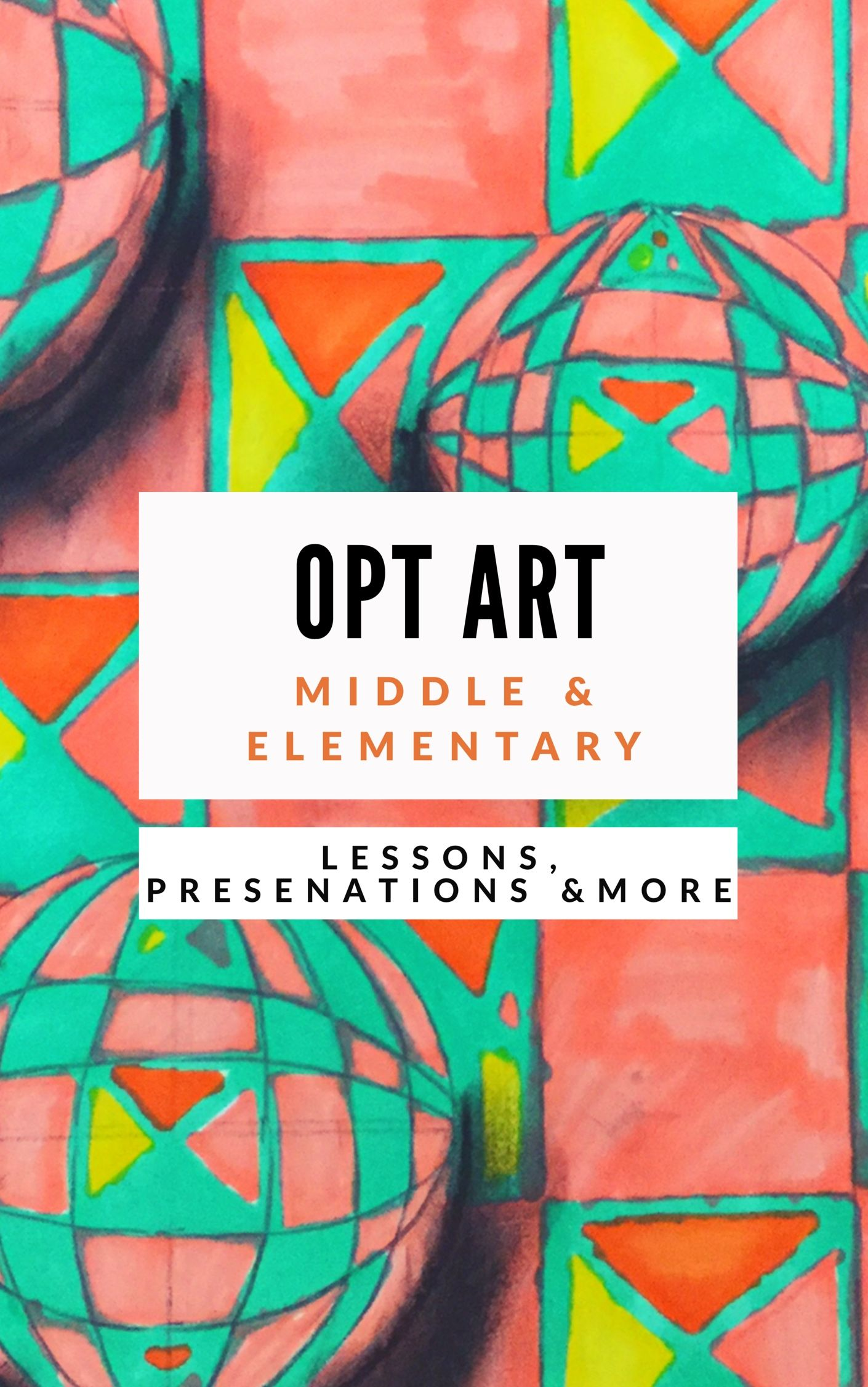 Optical Illusion Art Project For Elementary Or Middle