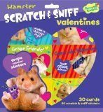 Get Peaceable Kingdom / Hamster Scratch & Sniff Grape Scented Valentine Cards