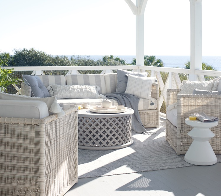 Consider Light Colored Ratan Style Rather Than Teak Or Ipe Outdoor Furniture Outdoor Lounge Patio Furniture