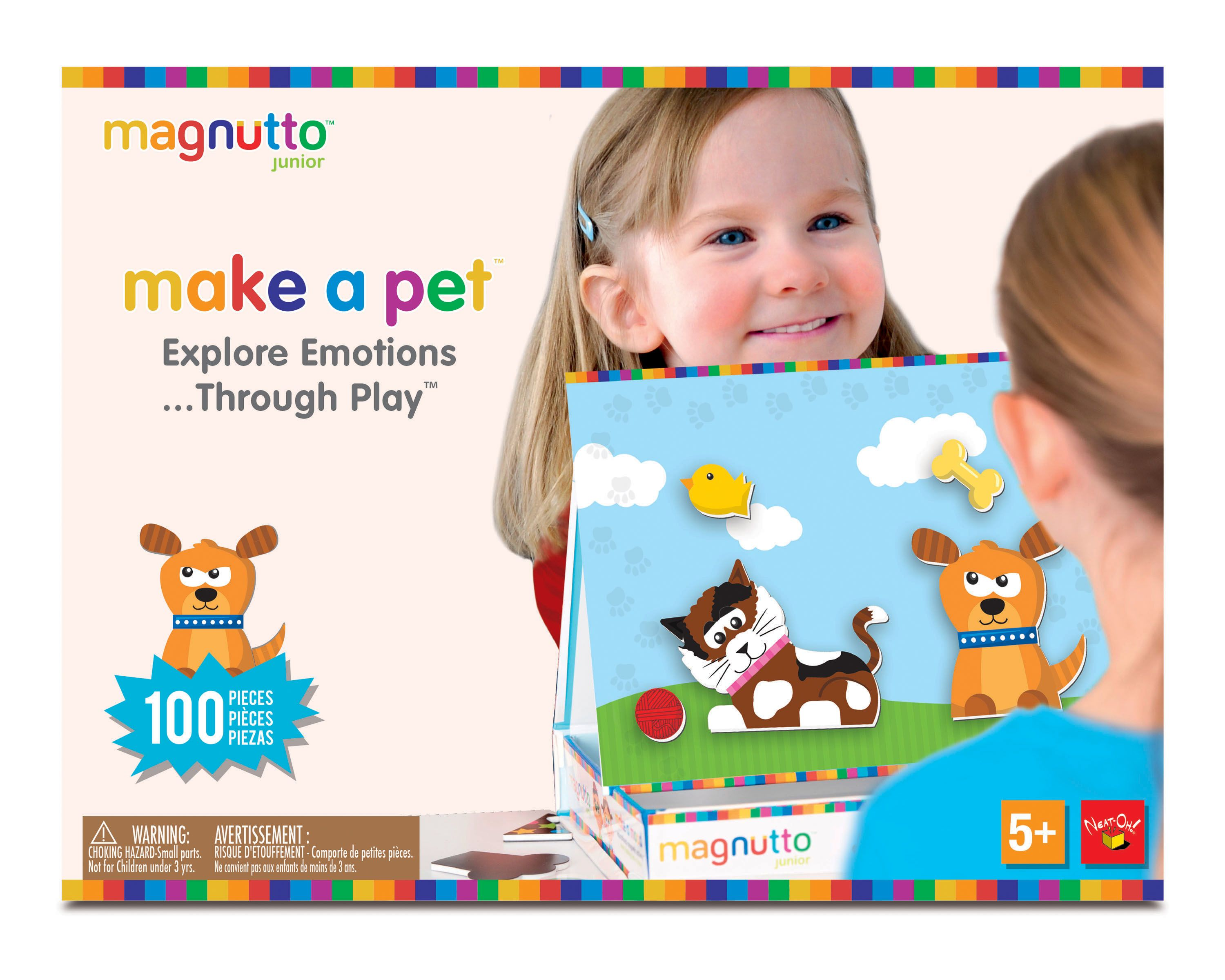 Neat Oh Magnutto Make A Pet Educational Magnetic