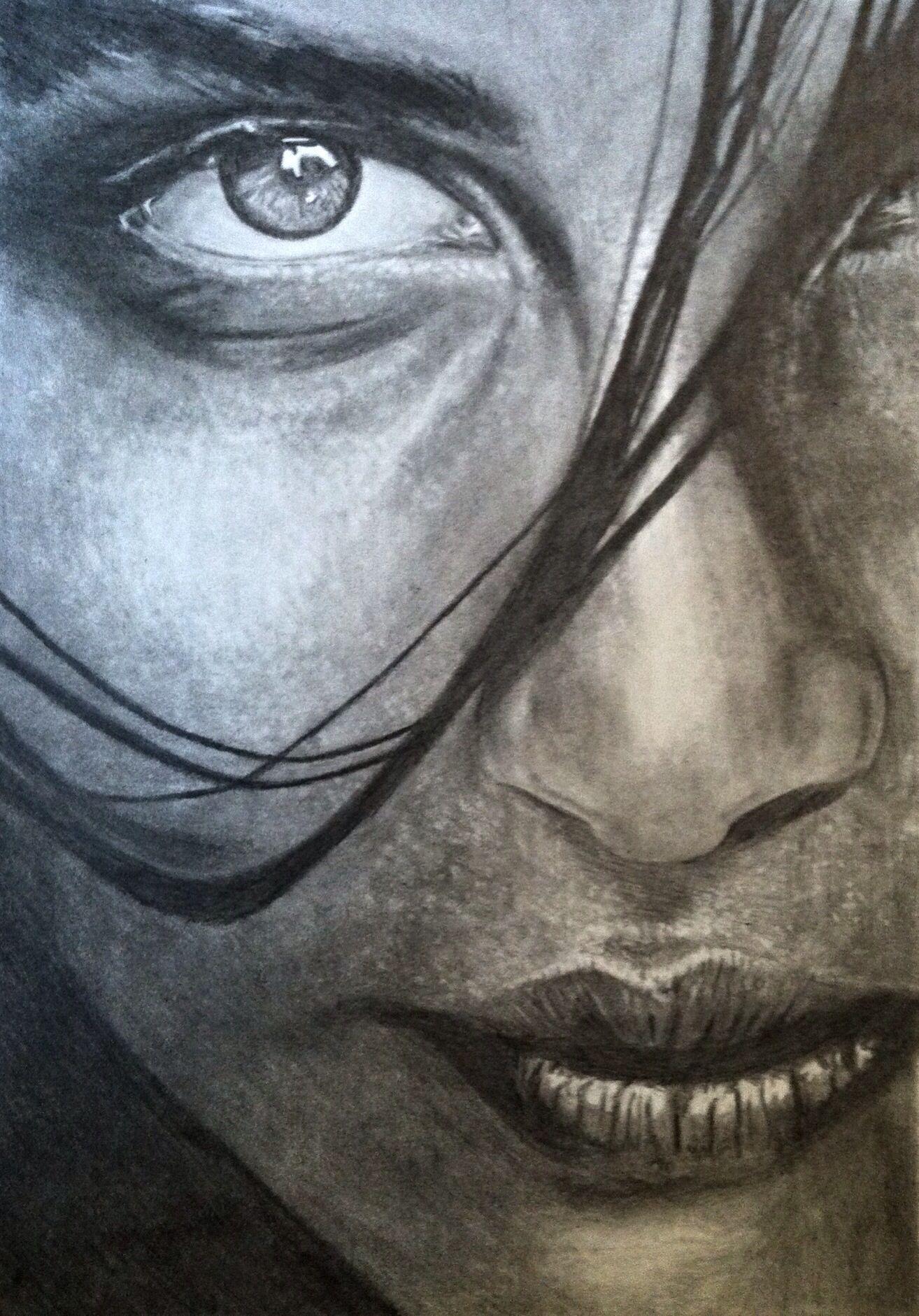 Pencil Drawing - Portrait