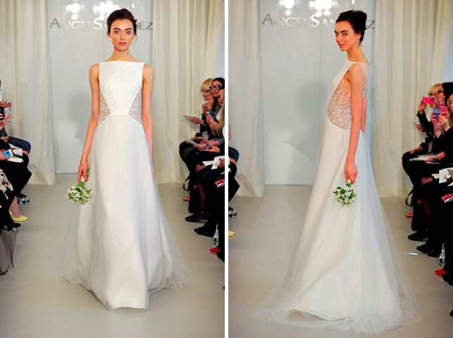 10 Wedding Dresses Inspired by Kim\'s Givenchy Gown via Brit + Co ...