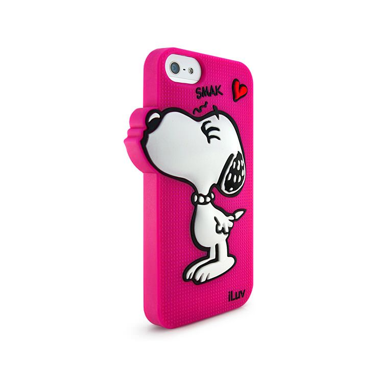 Belle 3D Artistic 3D Effect Silicone Case for iPhone 5/5s by iLuv ...