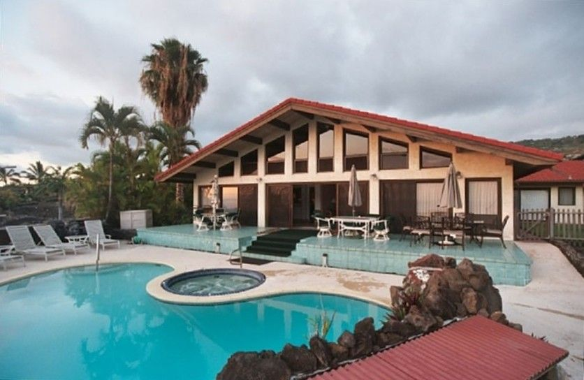 Big 3Bedroom / 4 bath Kona Home with Pool/Jacuzzi, Ocean