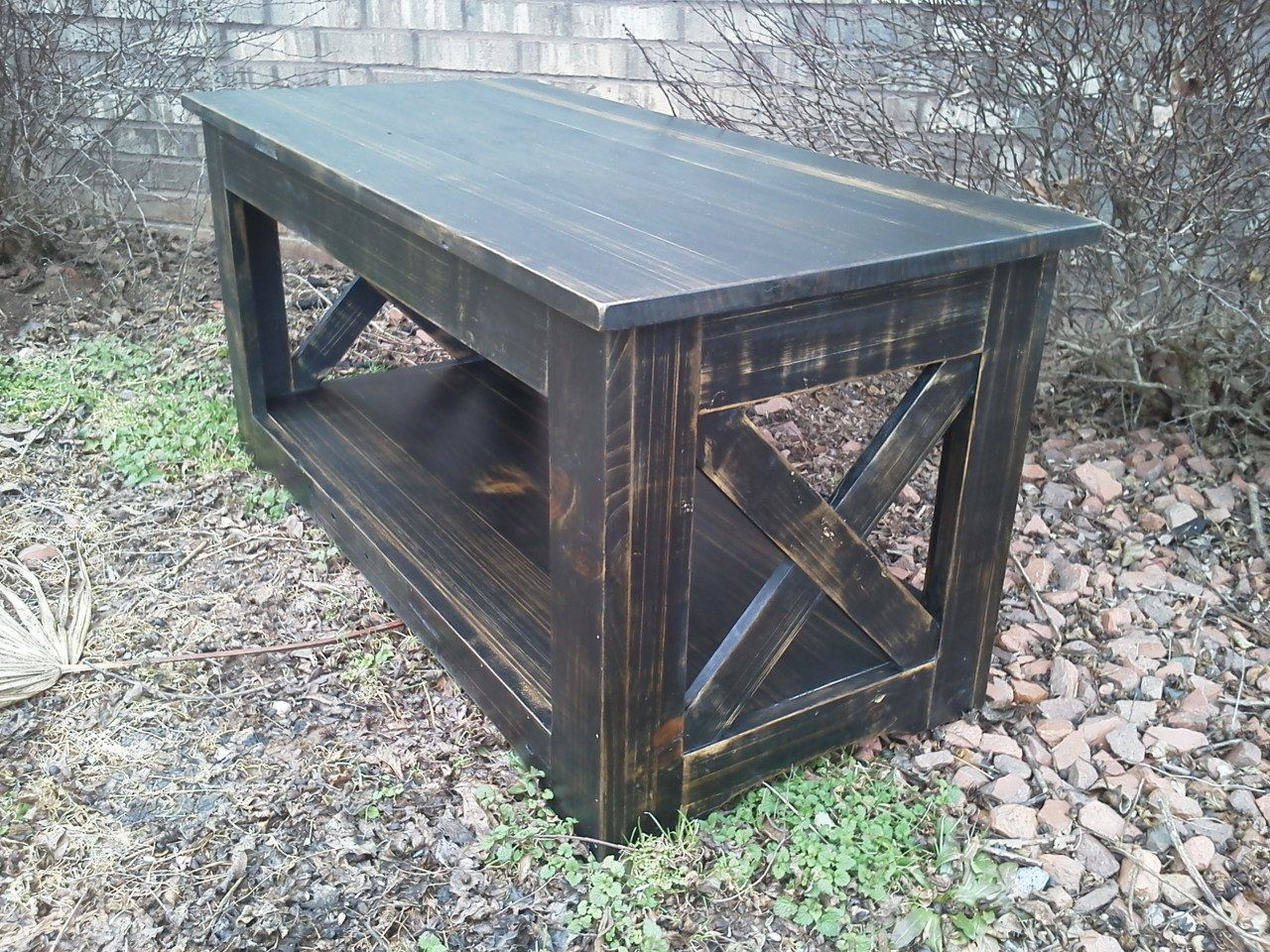 Primitive coffee table distressed painted pine free shipping primitive coffee table distressed painted pine free shipping 29000 via etsy geotapseo Image collections