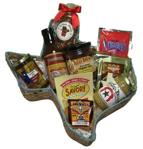 Ranch Hand Taste of Texas Food Gift Basket -#Treasure Journeys ...