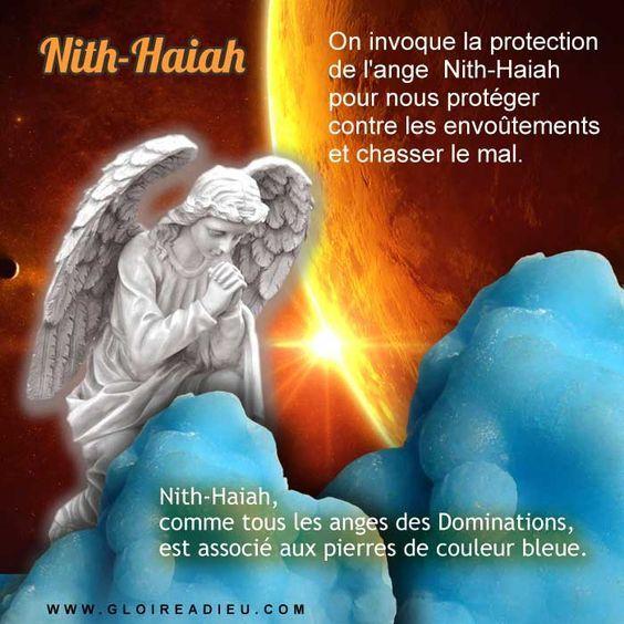 Prier Ange Nith Haiah Protection Contre Les Envoutements Et Chasser Le Mal Ange Gardien Ange De Lumiere Ange
