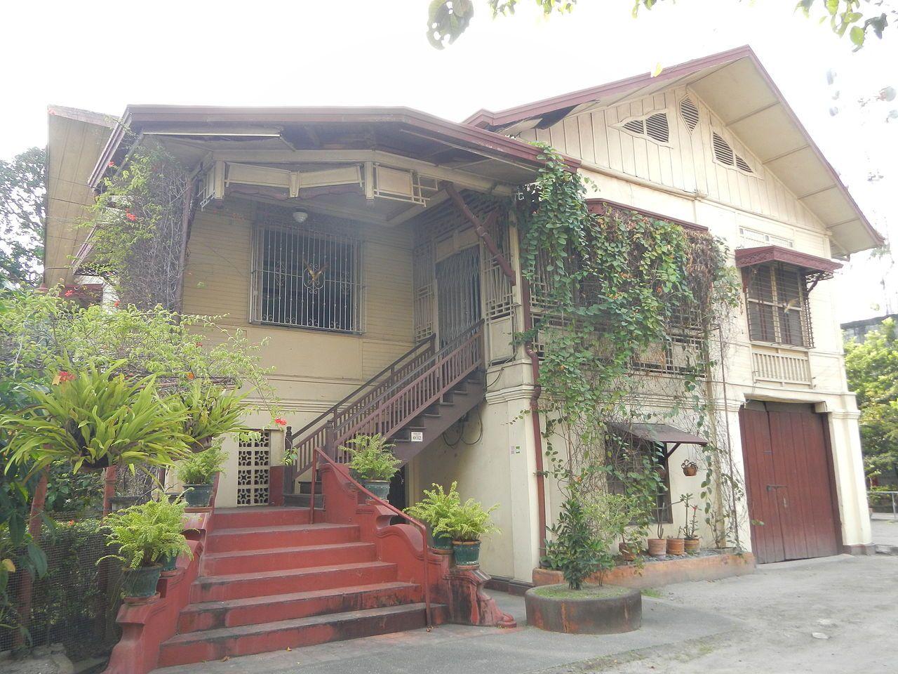 Consunji House San Fernando Pampanga House Traditional House House Design