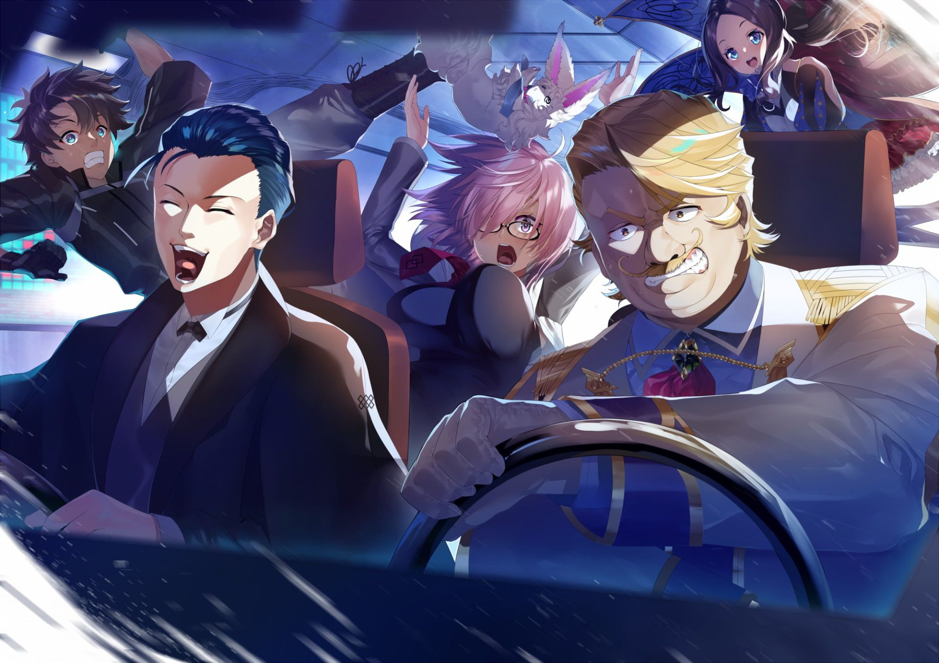 Hd Wallpaper Fate Series Fate Grand Order Fujimaru Ritsuka Male Goldolf Musik Anime Fate Anime Series Fate Fate grand order wallpaper