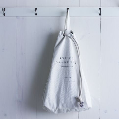 Put Hooks And Laundry Bag Behind The Main Door To The Master