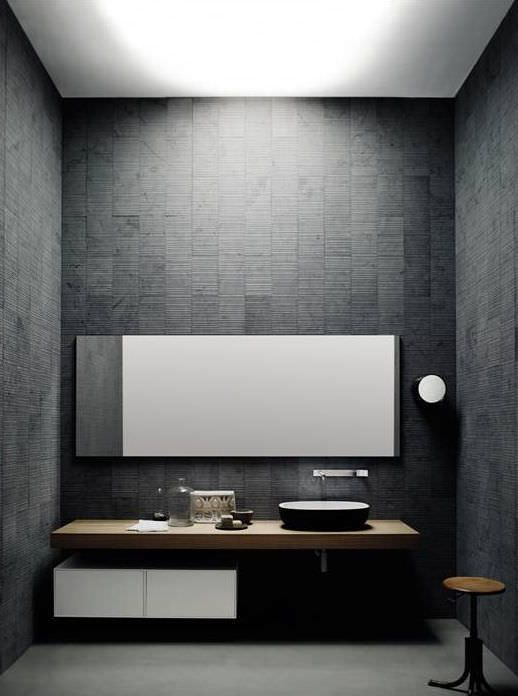 stone vanity top cristalplant corian wooden. Black Bedroom Furniture Sets. Home Design Ideas