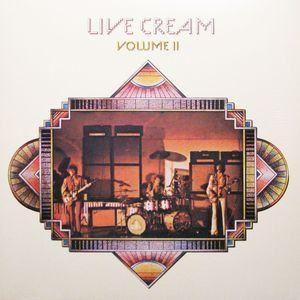 Cream - Live Cream Volume II LP Record Album On Vinyl