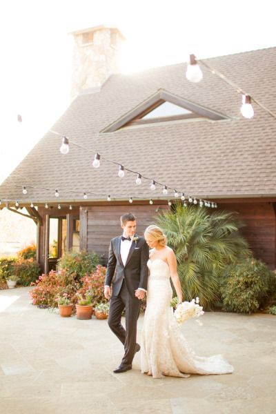 Rustic romantic wedding with gorgeous vibrant colors and an elegant lace wedding dress by Maggie Sottero.