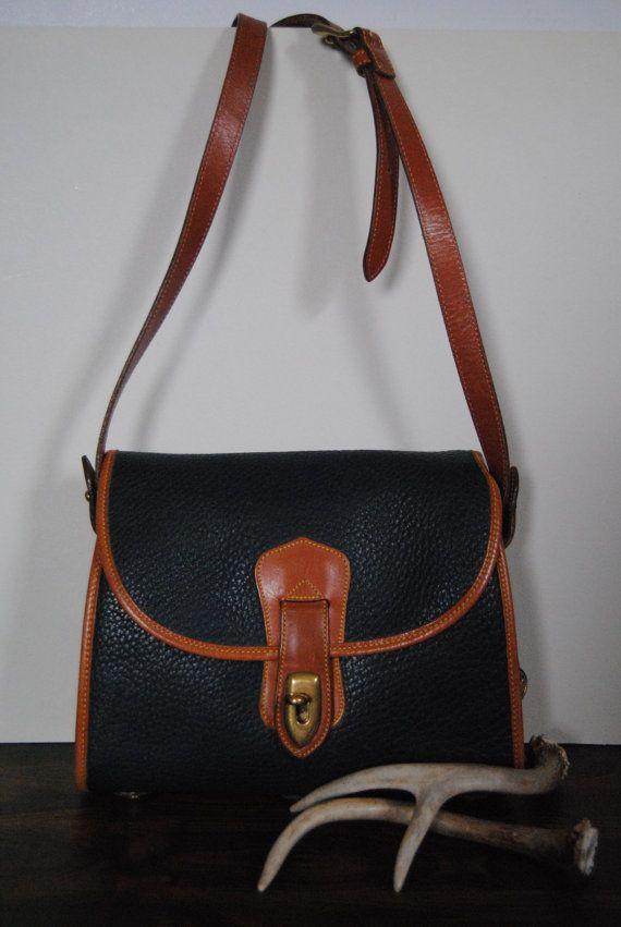 Dooney & Bourke Leather Satchel by hunterdear on Etsy, $97.00