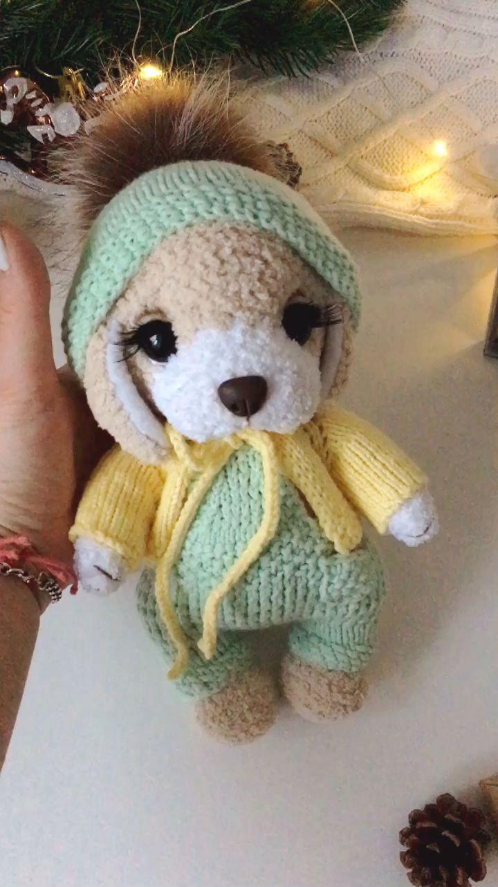 Dog crochet pattern. Amigurumi animal pattern. Cute puppy toy. Easy crochet pattern. For beginners. Plush dog crochet tutorial. #amigurumi for beginners tutorials videos Dog crochet pattern. Amigurumi animal pattern. Cute puppy toy. | Etsy #crochetbear