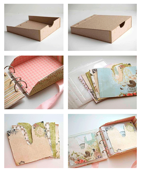 Como hacer un album para fotos manualidades pinterest scrap scrapbooking and album - Album de fotos ...