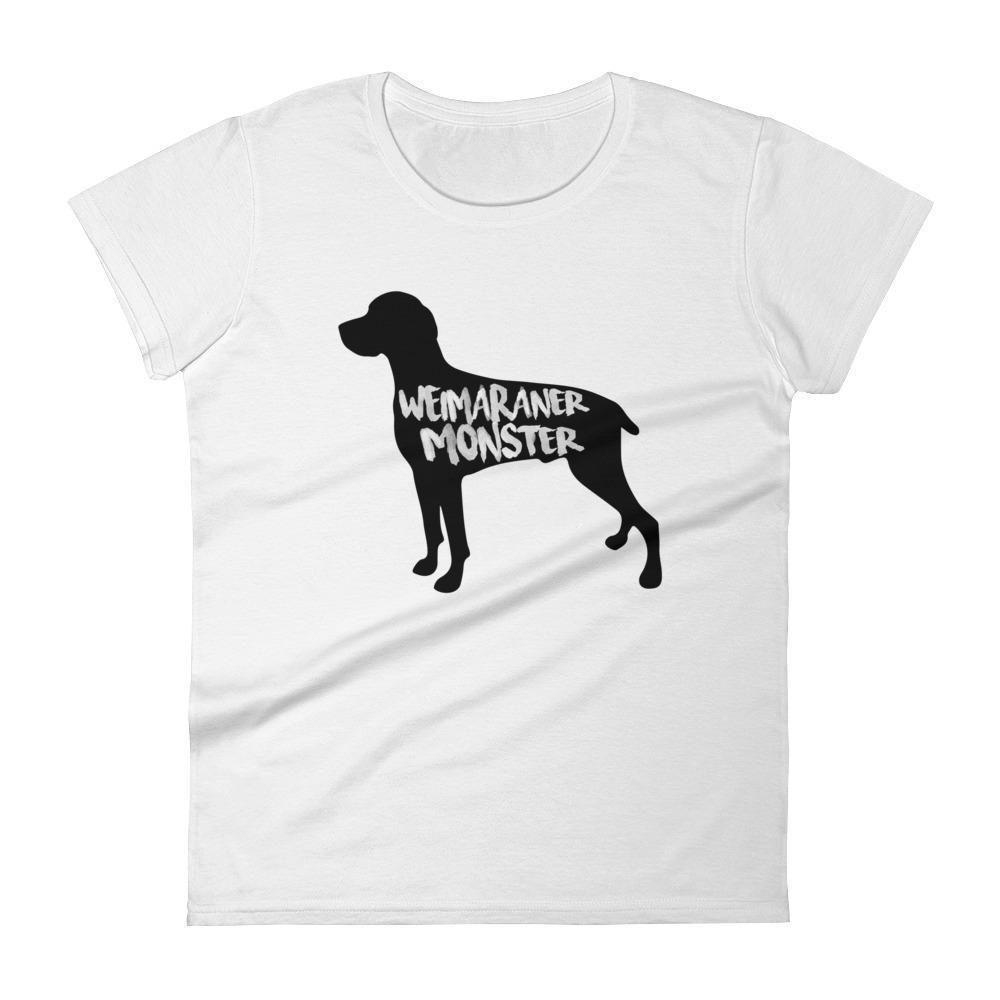 Weimaraner Monster - Women's short sleeve t-shirt