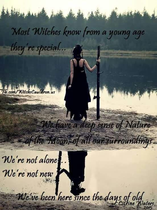 Since The Days of Old……The Witch Said What?