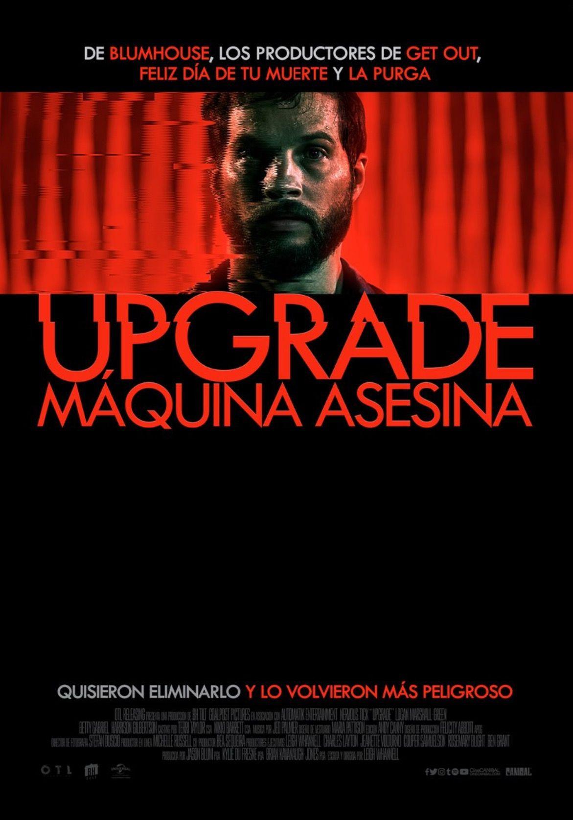 Upgrade Ilimitado Upgrade 2018 Películas Completas Películas En Inglés Ver Peliculas Online