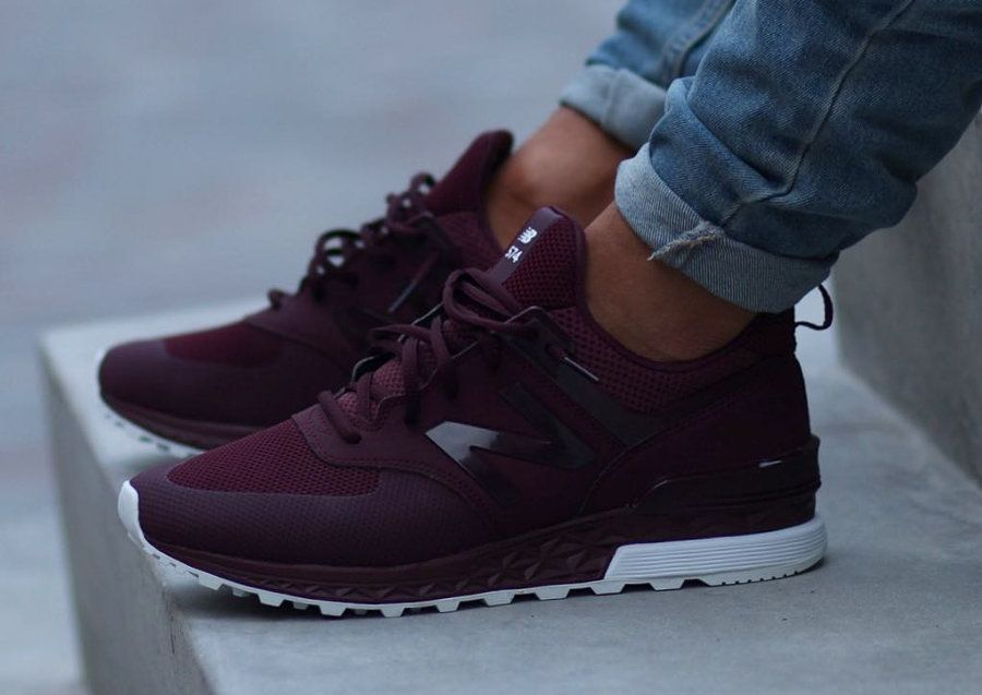 chaussure new balance marron