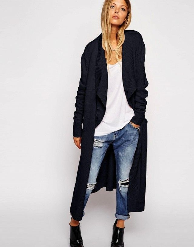 separation shoes d4d78 afd4a Model-Off-Duty Style: 3 Ways To Wear A Maxi Cardigan ...