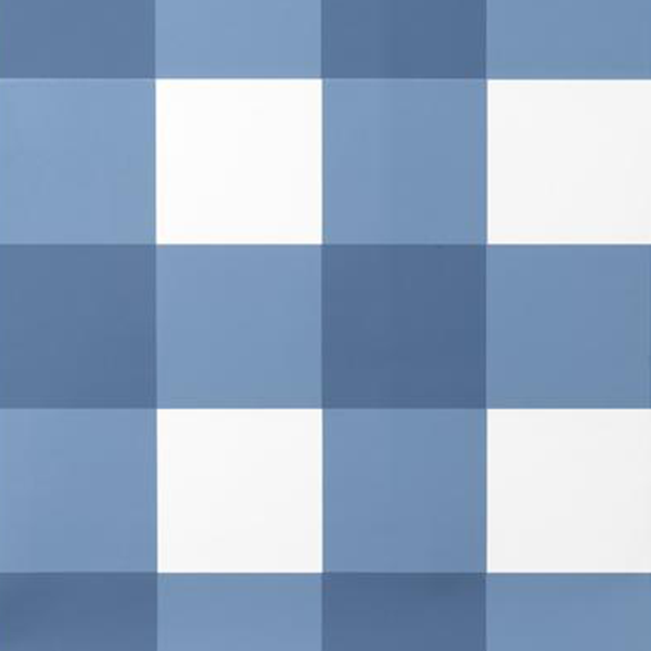 Grande Check in French Blue Wallpaper Swatch