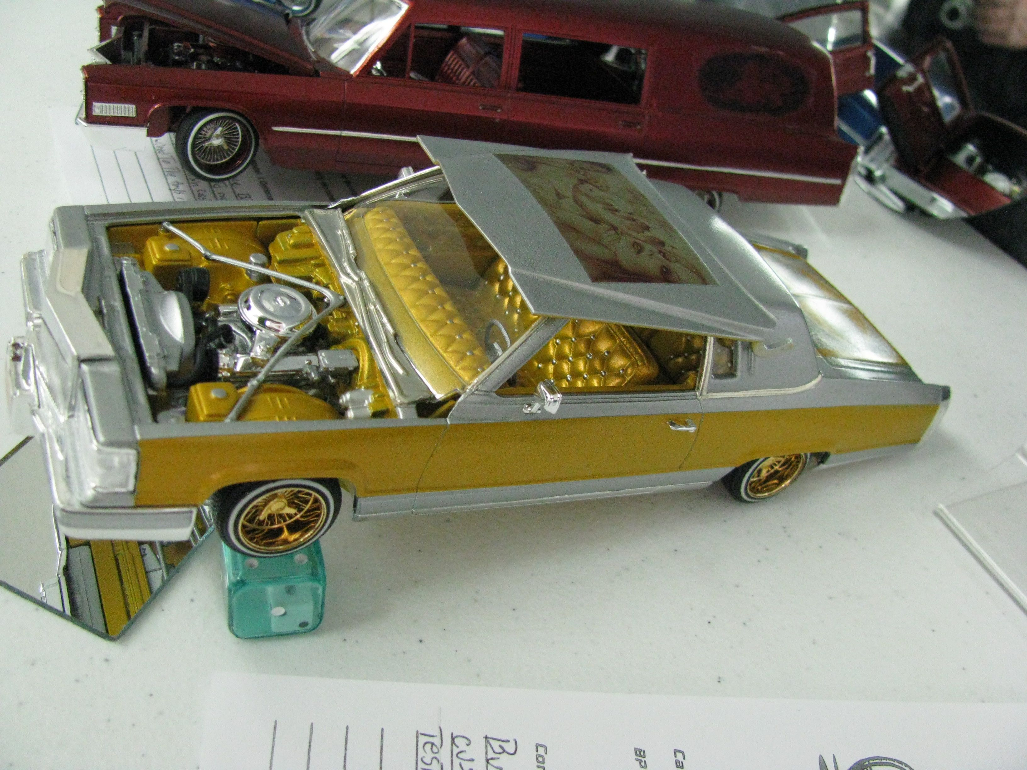 2012 Cedarville Model Car Contest Cadillac Low Rider Plastic