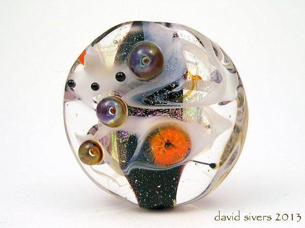 "David Sivers~""MARIGOLD""~Handmade lampwork Focal Bead~SRA by davidsivers on Etsy https://www.etsy.com/listing/159557876/david-siversmarigoldhandmade-lampwork"