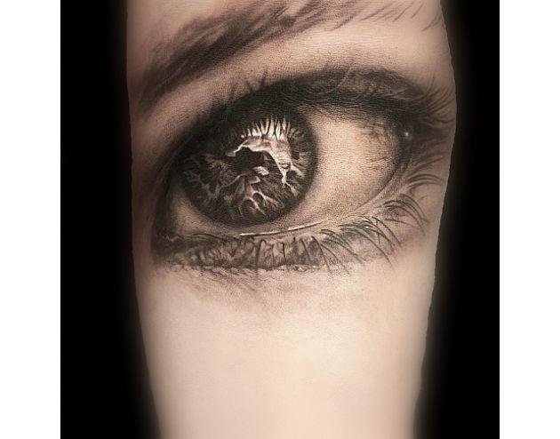 11 Tatuajes De Ojos Totalmente Realistas Que Seguro Te Incomodaran