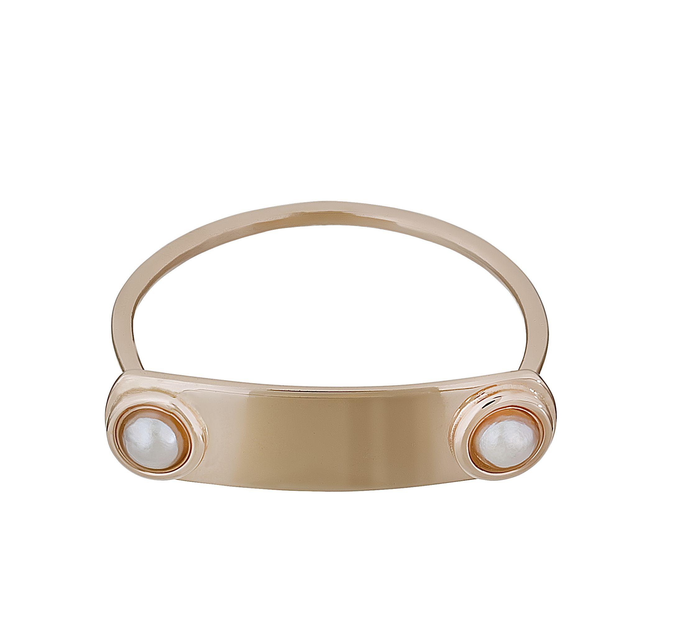 Pink gold pearl ring    #batyakebudi http://www.batyakebudishop.com/2-incili-kunye-yuzuk-pmu408