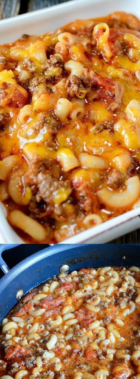 Old Fashioned Goulash Longpin -- part of Old Fashioned Goulash just like grandma made