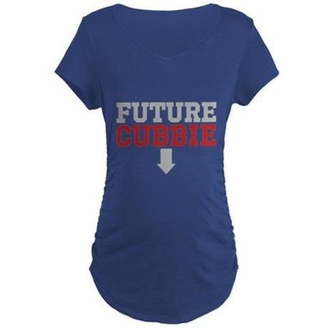 aaf09ed9 Future Cubbie Maternity T-Shirt on CafePress.com For the pregnant chicago  cubs fan