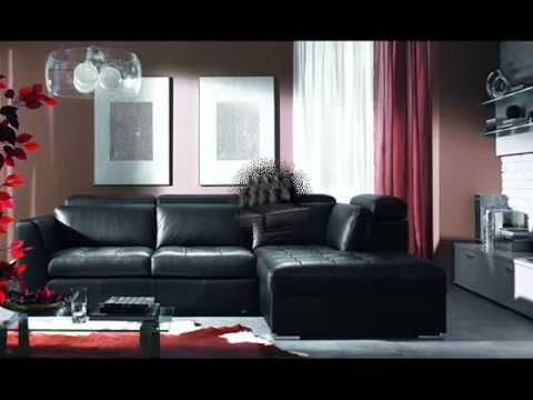 The Living Room Black Couch Living Room Ideas Living Room Leather Furniture Design Living Room Sofa Bed Design