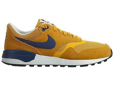 Nike Air Odyssey Mens 652989-700 Gold Leaf Coastal Blue Running Shoes Size 8 85a9afe623ec