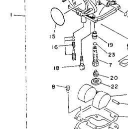 1993 Yamaha TIMBERWOLF 2WD (YFB250E) Carburetor