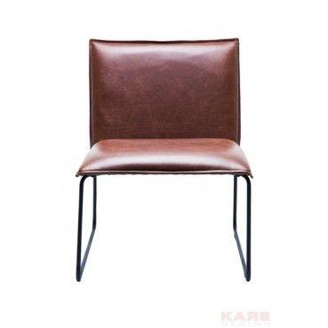 Chaise Niels Vintage Marron Kare Design