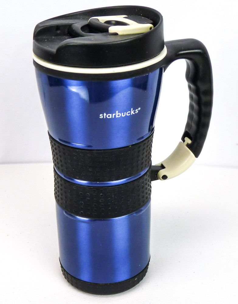 Starbucks Barista 2004 Stainless Steel Extreme Blue Travel