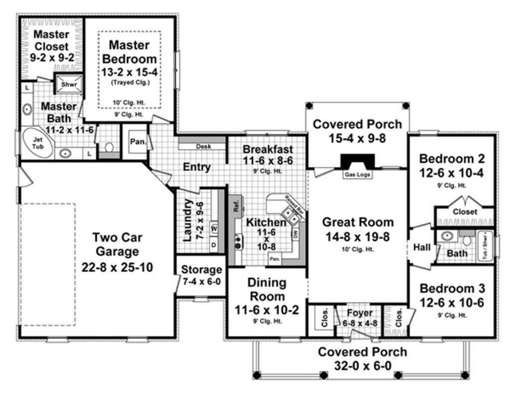 Love this home plans pinterest traditional house plans