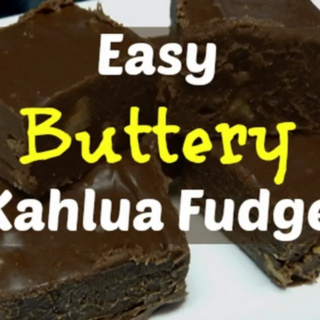 Easy Buttery Kahlua Fudge Recipe Yummly Recipe Fudge Recipes Milk Chocolate Chips Kahlua